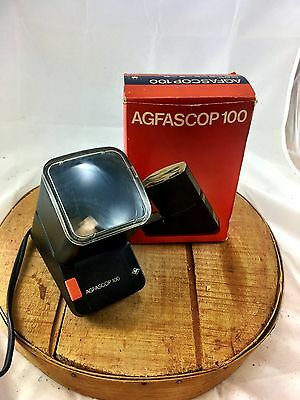 Slide Viewer Photo View box vintage photograph agfascop 100 Germany