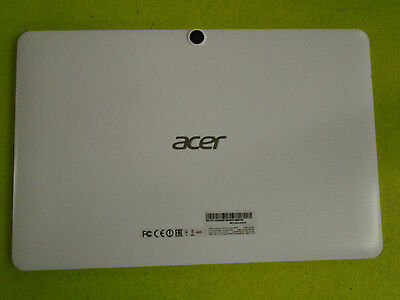 Oem Acer Iconia One 10 B3-A20 A5008 Replacement White Back Cover Case Housing
