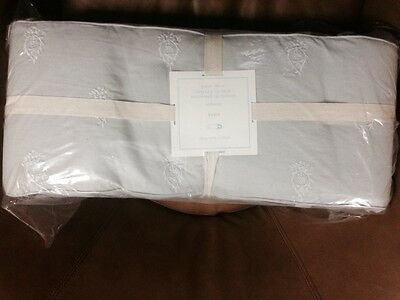 Pottery Barn Baby Cora Baby Bumper Gray One Size