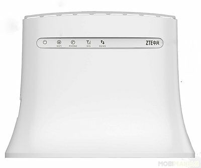 ZTE Router MF283+ 800/1800/2600MHz 4G 2G 3G LTE 150Mbps SMA ANTENNE