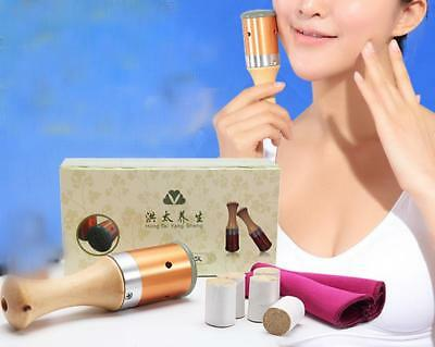 Meridian Warm Moxibustion Rods Body Face Eye Acupuncture Roll Burner Stick