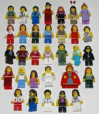 Lego Girl Minifigures For Sale You Pick What Figs You Want Series Women Females