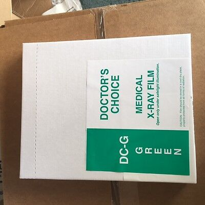 8x10 Green X-Ray Film (100 Sheets)