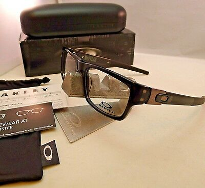 Oakley Muffler Ox1034 22-202 Black Eyeglasses Rx Frame Authentic 53Mm New