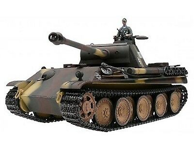 1:16 Taigen Panther Ausf G RC Tank 2.4GHz Smoke & Sound Metal Gear Infrared
