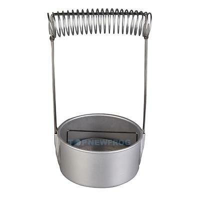 High Quality Stainless Steel Paint Brush Washer Cleaner w/Screen Holder Spring