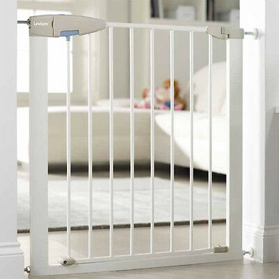 Lindam Baby Safety Stair Gate Sure Shut Axis Porte Push to Shut Pressure Fit