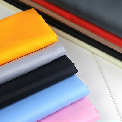 Coat Jacket Lining Fabric Plain Material Dress Suit Making Quilting 100cm Black