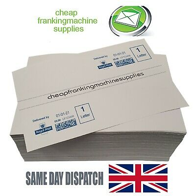 Budget Franking Labels - (100pcs - 24000pcs) Neopost Pitney Bowes FP Frama