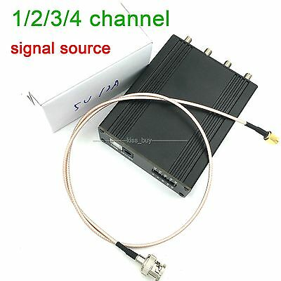 1/2/3/4 channel signal source /RF Frequency Amplitude Phase Function sine wave