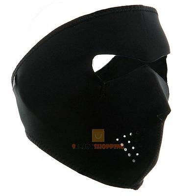 Reversible Neoprene Full Face Mask Motorcycle Ski Cycling Bike Winter Warmer