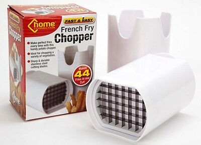 Potato French Fry/fries Chopper - Fast Chip Chipper- Up To 44 Fries In One Cut