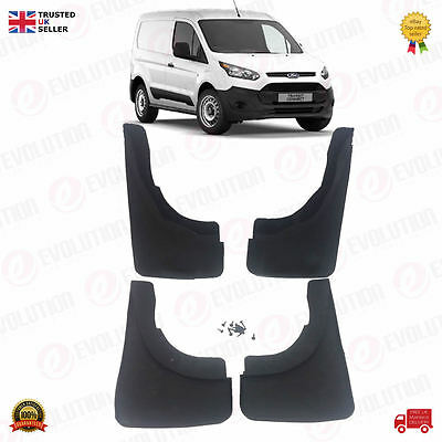 Brand New Set Of 4 Front & Rear Mud Flaps For Renault Kangoo
