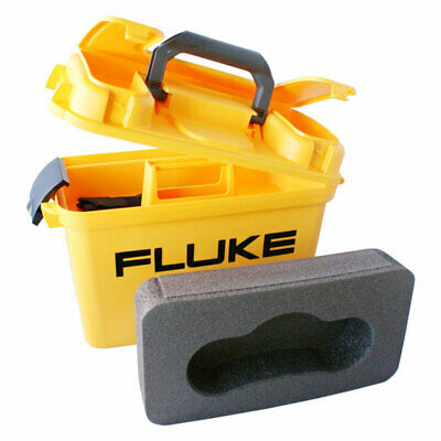 Fluke C1600 Meter Carry Case w/ Foam Insert for 1650 and 1660 Series MFT Testers