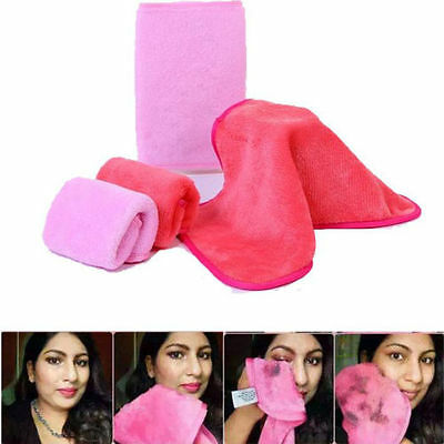 Reusable Makeup Easy Eraser Washable Cosmetics Remover Towel Mascara Removal