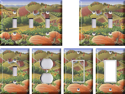 Pumpkin Patch - Light Switch Covers Home Decor Outlet