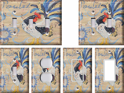Rooster 3 - Light Switch Covers Home Decor Outlet