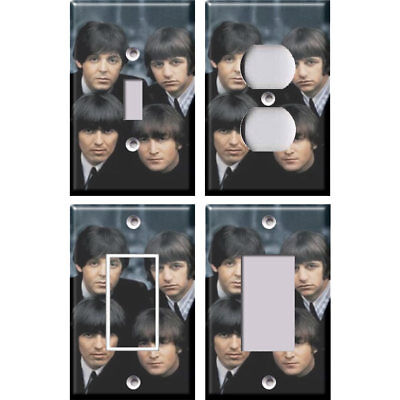 The Beatles 2 - Light Switch Covers Home Decor Outlet