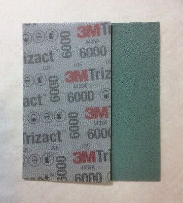 1 x 3M 51262 Trizact Feuille Abrasive Hookit Flexible P6000 - 80 x 140 mm