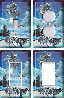 Wolf 3 - Light Switch Covers Home Decor Outlet