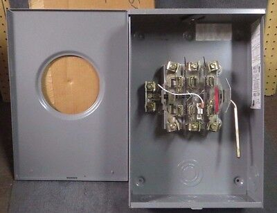 *new Surplus* Superior Technology Meter Socket With Bypass 200 Amp 600V # Cu449