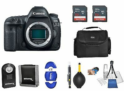 Canon EOS 5D Mark IV / MK4 DSLR Camera (Body Only) + 64GB SD and more *NEW*