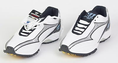 "NEW BALANCE ""WARRIOR"" Womens White LACROSSE Cleats Turf Shoes WBWT-LW NWT"