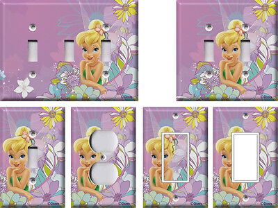 Disney Tinkerbell 3 - Light Switch Covers Home Decor Outlet