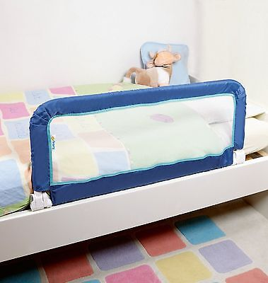 Safety 1st Fold Travel Portable Childs Toddler Baby Bed Guard Rail Bedrail Blue