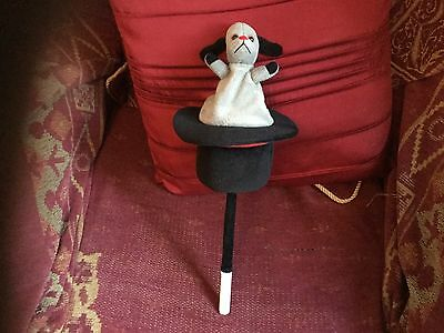 Official Magician's Sweep Soft Toy In Top Hat On Magic Wand Sooty Sweep Sue