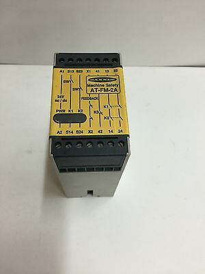 Used Banner Safety Relay At-Fm-2A