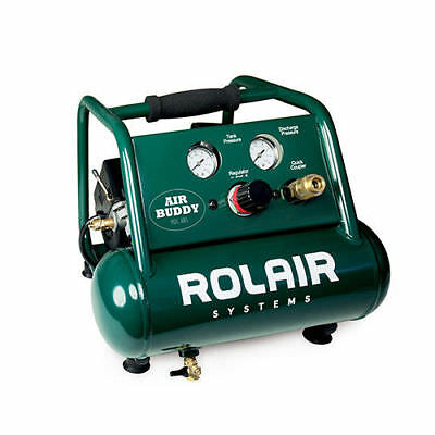 Rolair 1 Gallon 0.5 HP Oil-Less Hand Carry Air Compressor AB5 new
