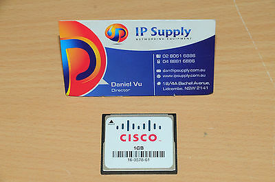Original MEM-CF-1GB Compact Flash Memory for Cisco 1900 1921 1941 6MthWty TaxInv
