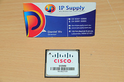 Original MEM-CF-512MB Compact Flash Memory for Cisco 3900 3925 3945 3935E 3945E