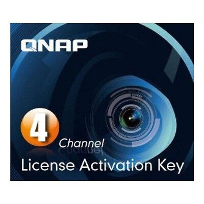 QNAP Surveillance Station Pro - Licence for 4 IP camera (Activation Key)