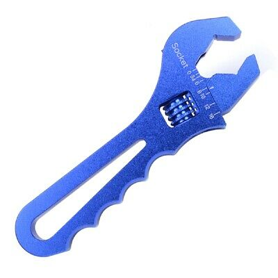 3AN to 16AN Adjustable Wrench Spanner Aluminum V-type Efficient Hand Wrench Tool