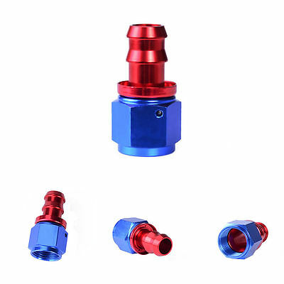 AN10 Racing Hose End Fitting Straight Swivel Push Lock Hose Male Fitting Adapter