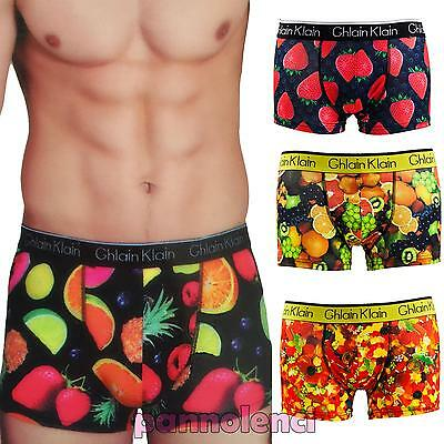 Boxer man underwear lingerie strawberries candy fruit underpants new H220