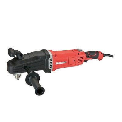 "1/2"" Compact 2-Speed Right Angle Drill ""hole hog""Mix Mortar, Drill Between Studs"