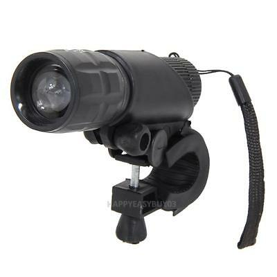 4.5V 2000 Lumens CREE Q5 LED Bike Bicycle Front Light Waterproof Lamp+ Holder
