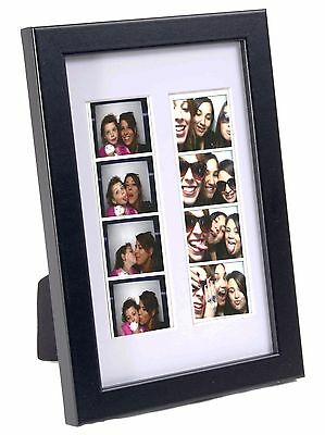 Wedding Favor Black Photo Booth Frame Holds 1 2x6 Photo With