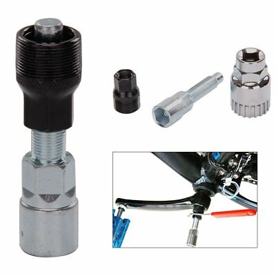 Bike Bicycle Cycle Crank Wheel Puller Remover Repair Extractor Mountain Tool Set