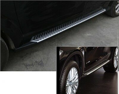 new fit Dodge Journey JCUV 2013-2016 aluminium side step nerf bar running board