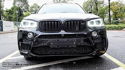 fit BMW X5 F15 2014 2015 2016 2017 NEW DESIGN front grille mesh grill vent