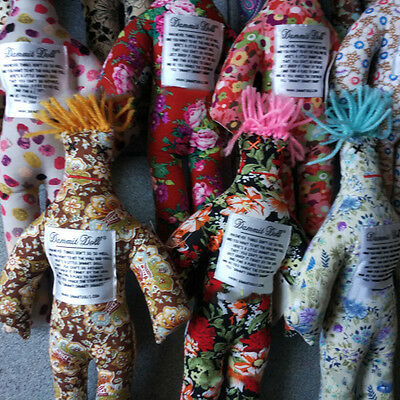 "4pcs NEW Random Pattern Color Stress Relief 12"" Dammit Doll Plush Toy"