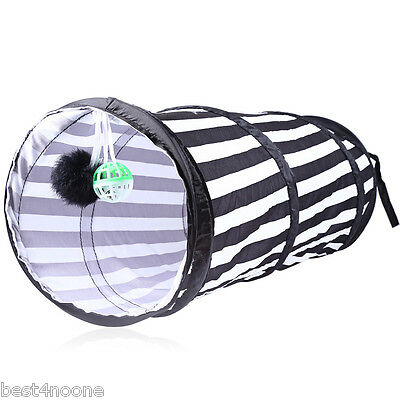 Polyester Cloth Folding Tent Playing Tunnel for Cat Environmentally Friendly