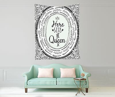 Funny Quotes Artwork Tapestry Wall Hanging for Living Room Bedroom Dorm Decor