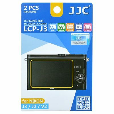 JJC LCP-J3 LCD Screen Protector Guard Film Cover für Nikon J2, J3, V2 Kamera