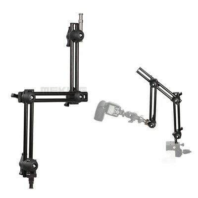 Selens Three Section Adjustable Articulated Arm Sliding Extension Rod System New