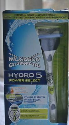 Wilkinson sword hydro 5 power select razor.